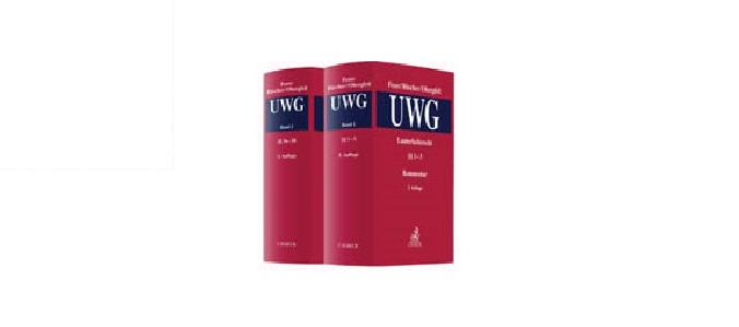 Fezer Büscher Obergfell Lauterkeitsrecht UWG
